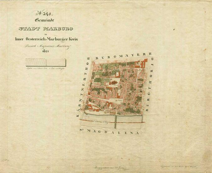 Maribor_Franziszeischer_Kataster_1824